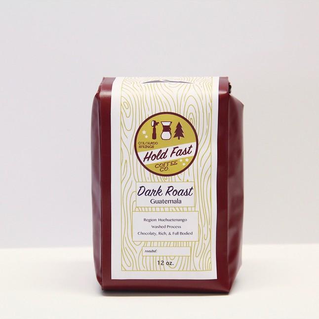 Hold Fast Coffee Dark Roast Guatemalan