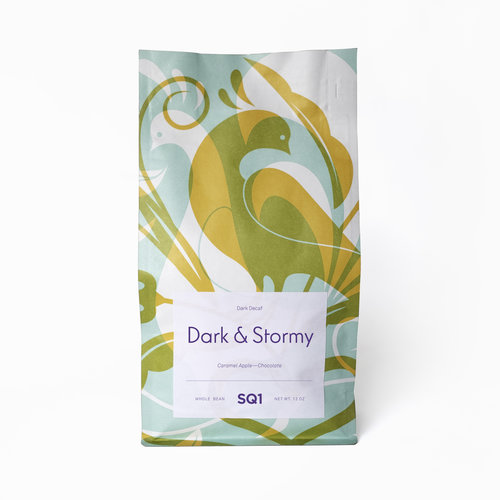 Square One Coffee Dark and Stormy Sugarcane Decaf