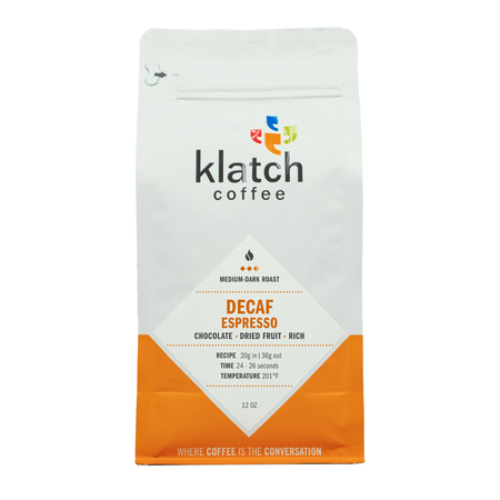 Klatch Coffee Decaf Espresso Blend