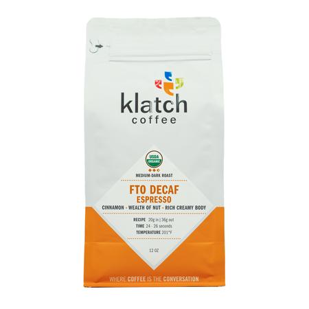 Klatch Coffee ORG Decaf Espresso