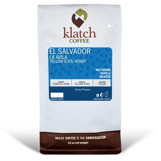 Klatch Coffee El Salvador La Avila