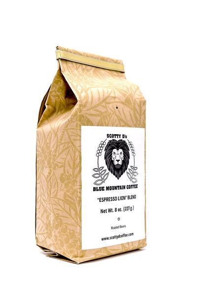 Scotty D Coffee Espresso Lion Blend