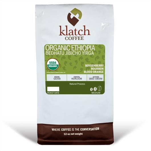 Klatch Coffee Ethiopia Bedhatu Jibicho Yirga Organic
