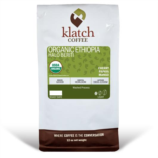 Klatch Coffee Ethiopia Halo Beriti