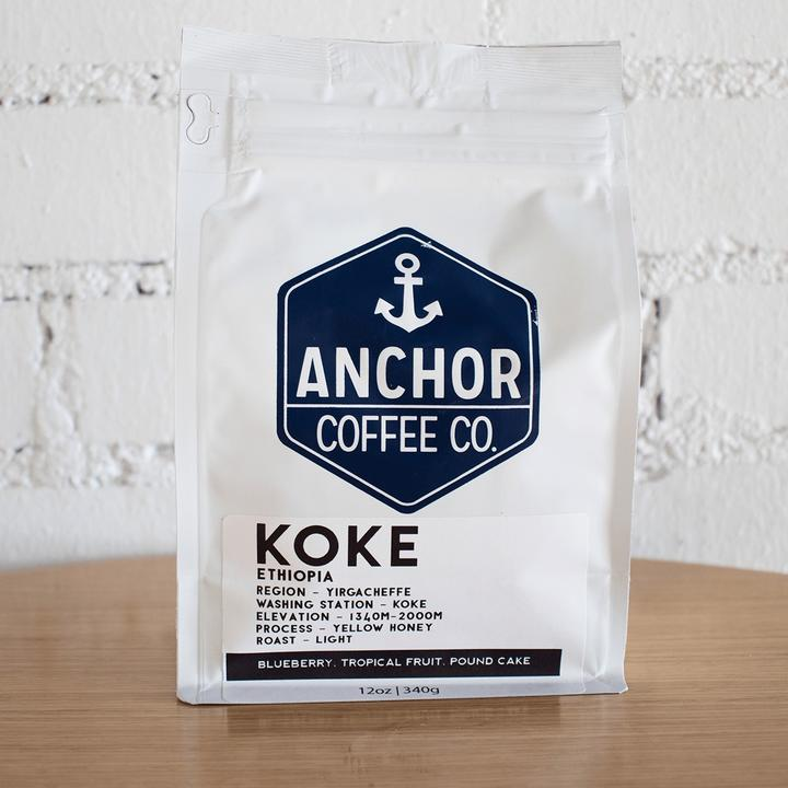 Anchor Coffee Co Ethiopia Koke