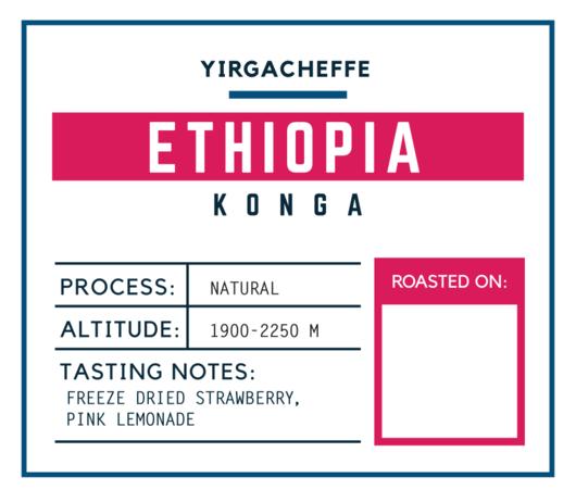 Brugh Coffee Ethiopia Konga
