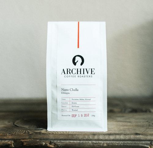 Archive Coffee Ethiopia Nano Challa