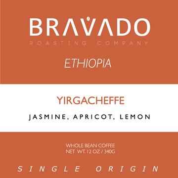 Bravado Roasting Company Ethiopia Yirgacheffe