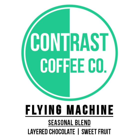 Contrast Coffee Flying Machine