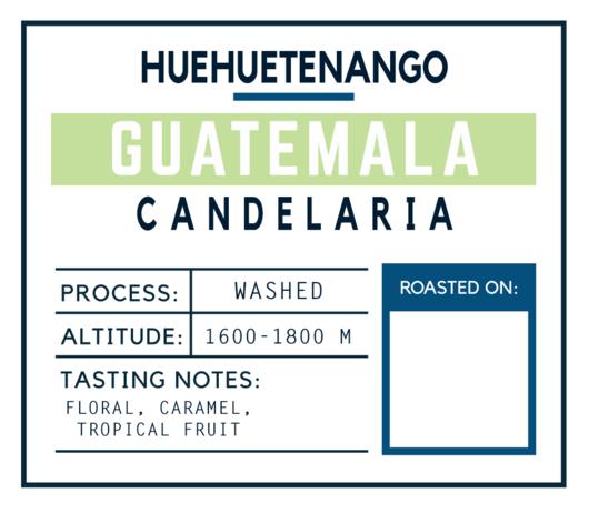 Brugh Coffee Guatemala Candelaria