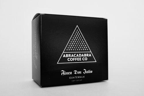 Abracadabra Coffee Co Guatemala Finca Don Julio SWP Decaf