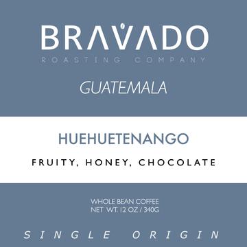Bravado Roasting Company Guatemala Huehuetenango