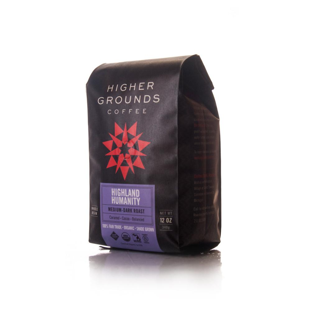 Higher Grounds Trading Company Highland Humanity Blend