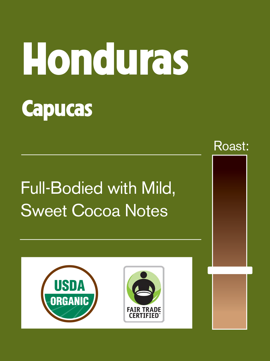 Philly Fair Trade Honduras Capucas