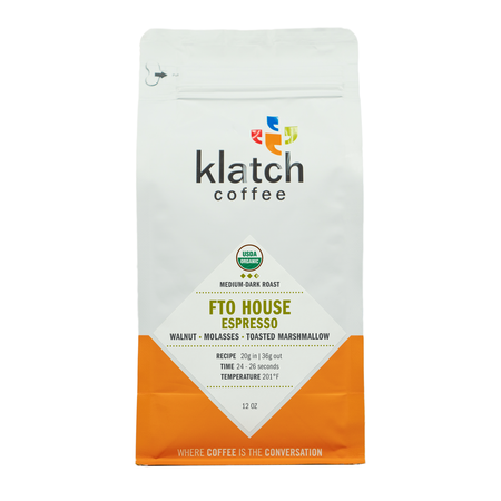 Klatch Coffee ORG House Espresso