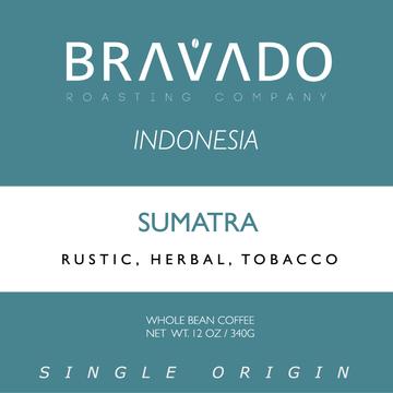 Bravado Roasting Company Indonesia Sumatra