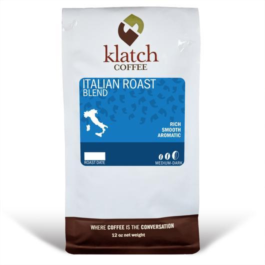 Klatch Coffee Italian Roast Blend