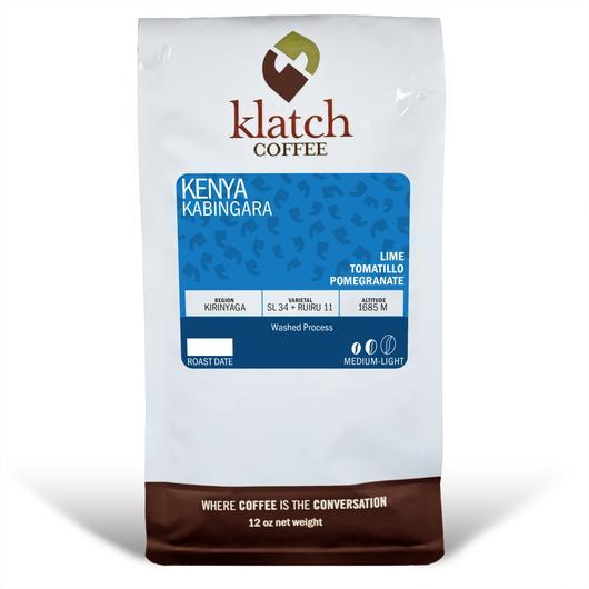 Klatch Coffee Kenya Kabingara
