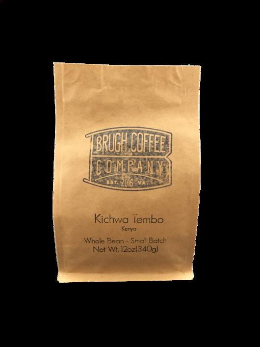 Brugh Coffee Kenya Kichwa Tembo