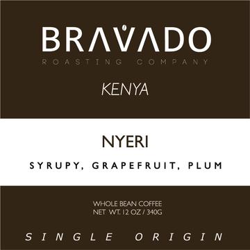 Bravado Roasting Company Kenya Nyeri