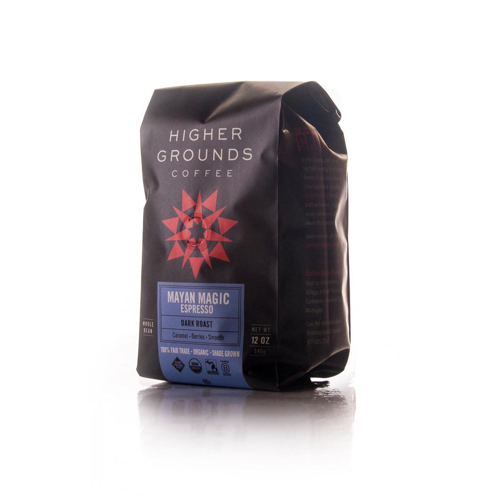 Higher Grounds Trading Company Mayan Magic Espresso