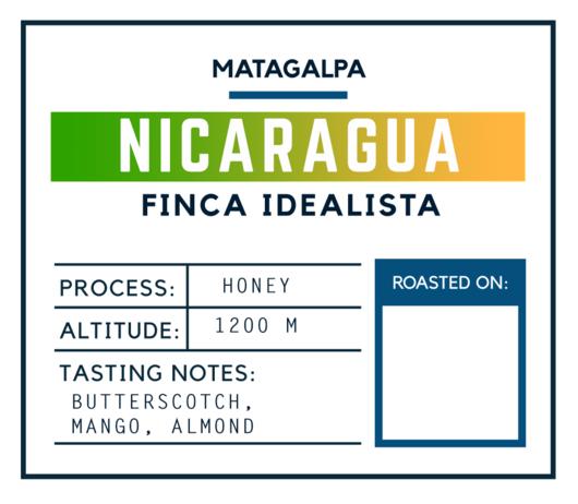 Brugh Coffee Nicaragua Finca Idealista Honey