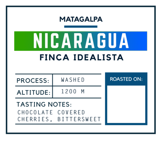 Brugh Coffee Nicaragua Finca Idealista Washed