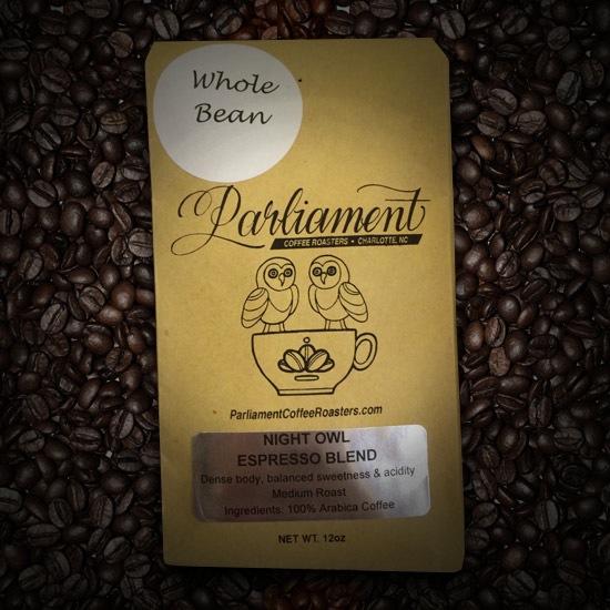 Parliament Coffee Roasters Night Owl Espresso Blend