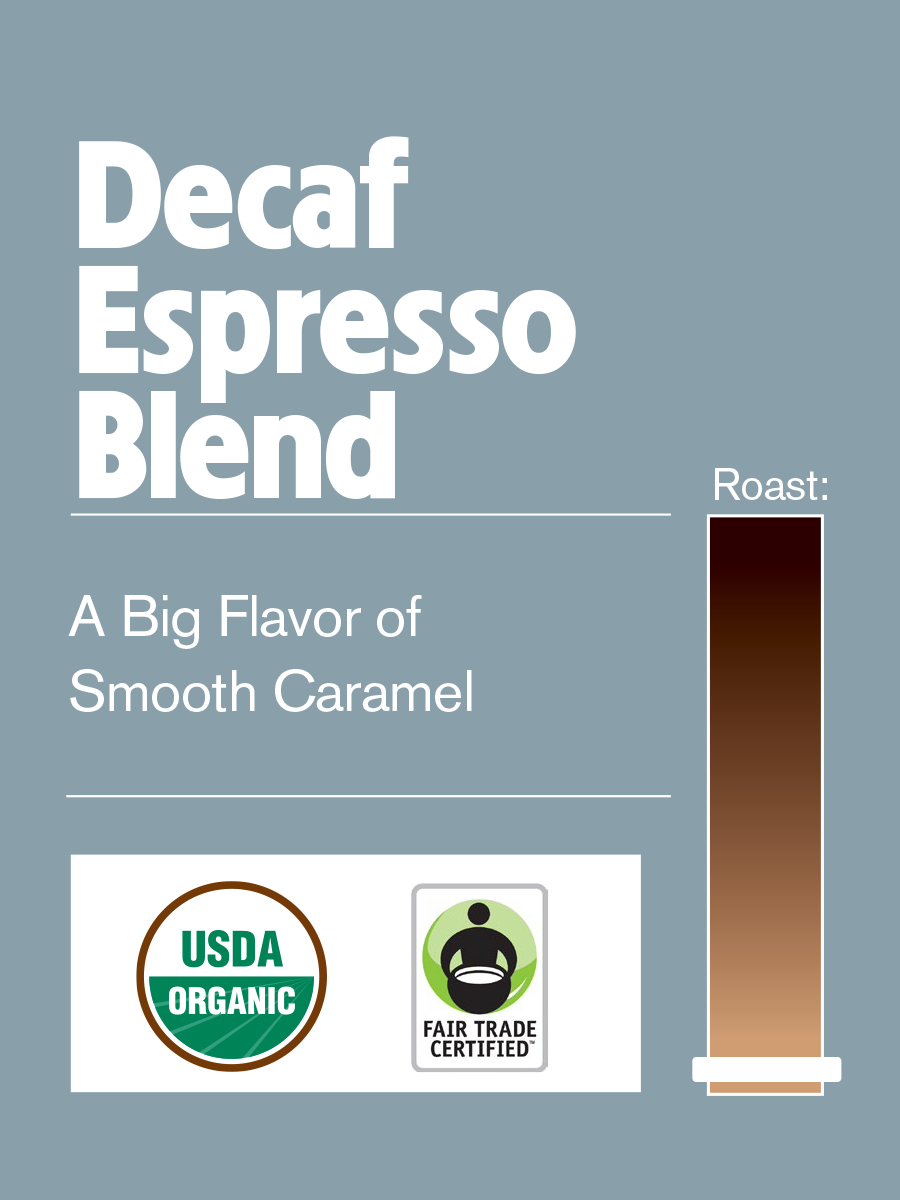 Philly Fair Trade Organic Decaf Espresso Blend SWP