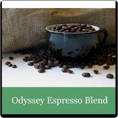 Voyage Coffee Roasters Odyssey Espresso Blend