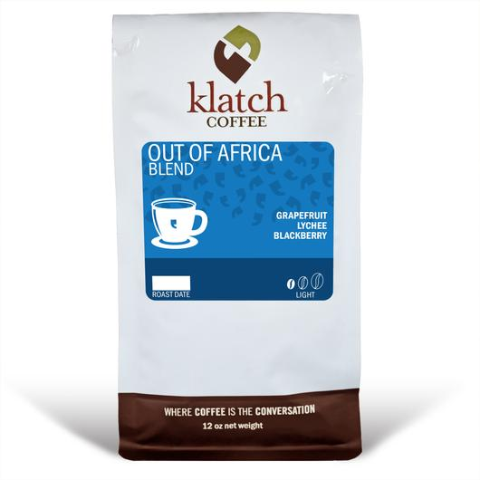 Klatch Coffee Out of Africa Blend