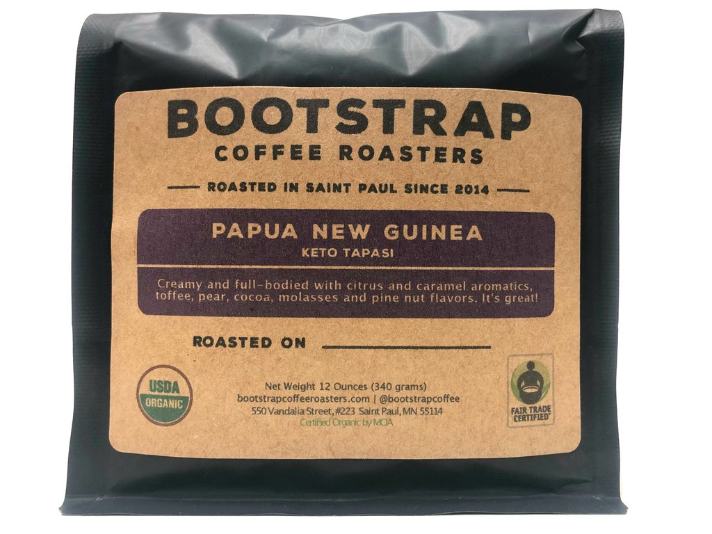 Bootstrap Coffee Roasters PNG Keto Tapasi