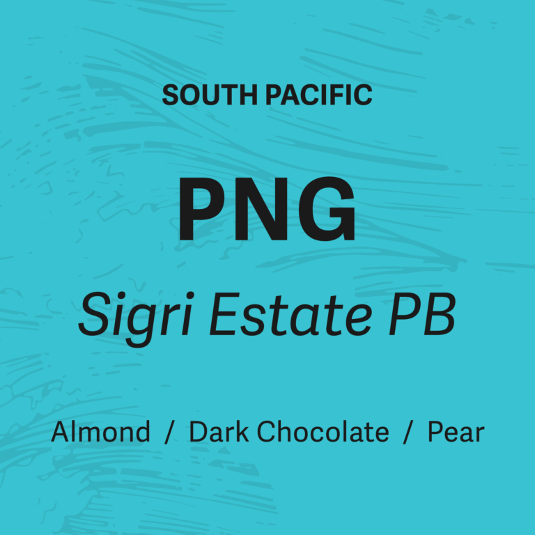 Boil Line Coffee Co PNG Sigri Estate Peaberry