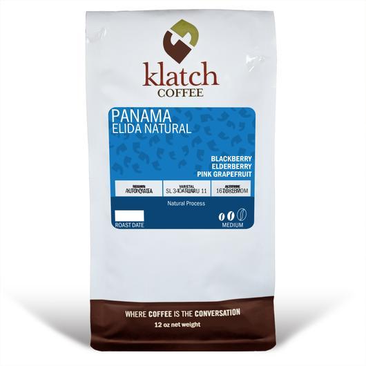 Klatch Coffee Panama Elida Estate Natural