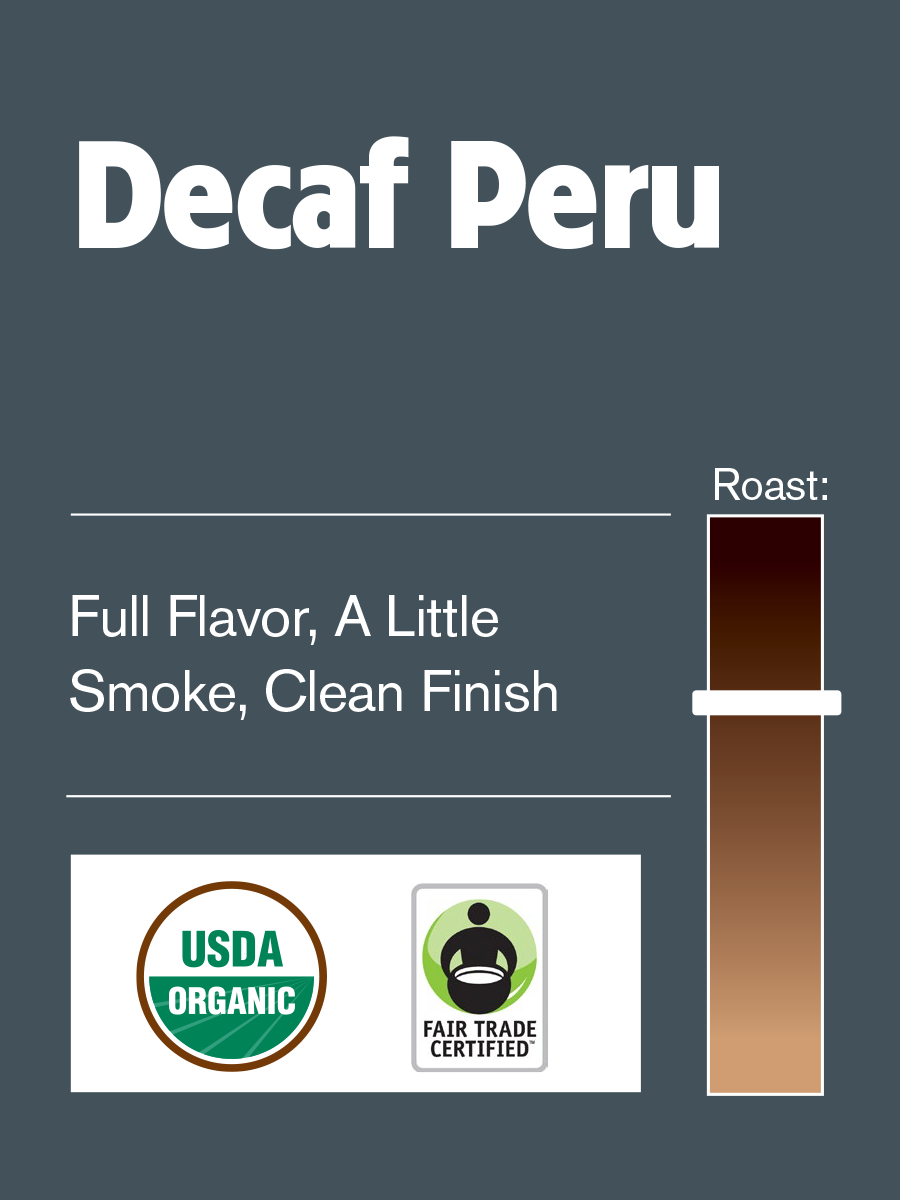 Philly Fair Trade Peru Cajamarca Decaf SWP