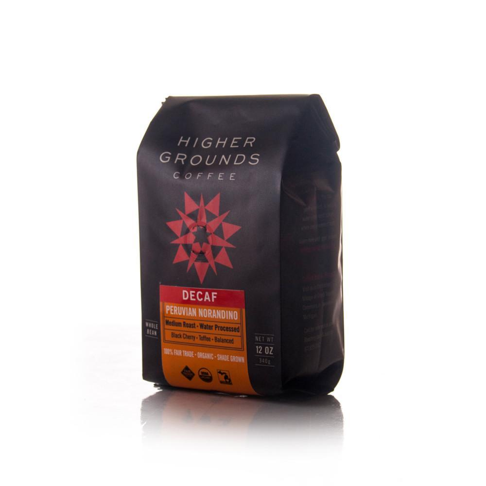 Higher Grounds Trading Company Peru Norandino Decaf MWP (Med. Roast)