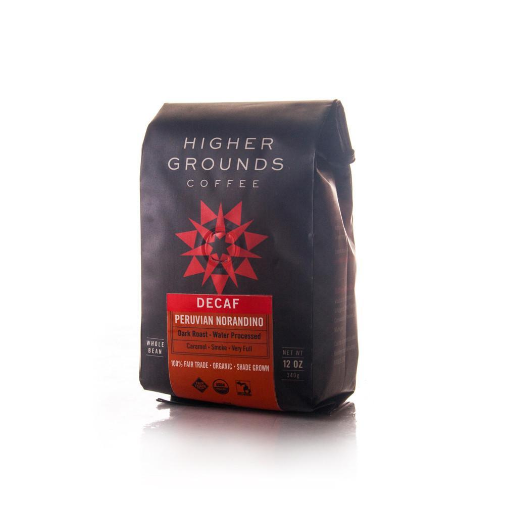 Higher Grounds Trading Company Peru Norandino Decaf MWP (Dark Roast)