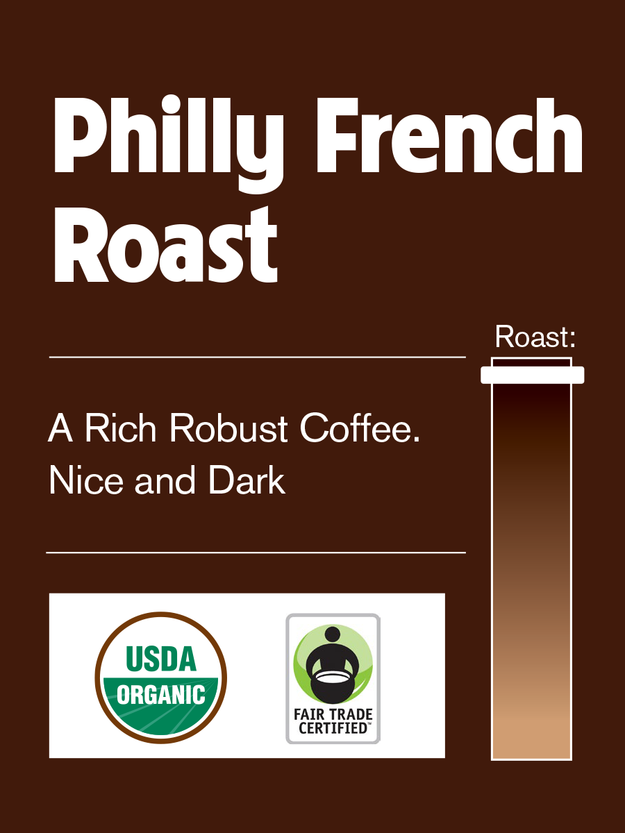 Philly Fair Trade Philly French Roast