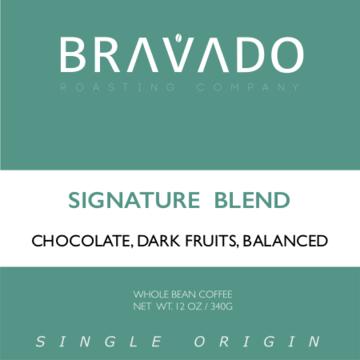 Bravado Roasting Company Signature Blend