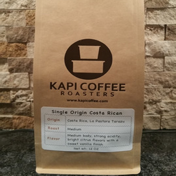 Kapi Coffee Single Origin Costa Rican - Tarrazu