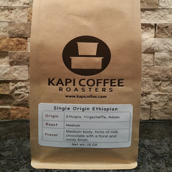 Kapi Coffee Single Origin Ethiopian Yirgacheffe