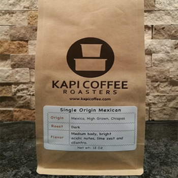 Kapi Coffee Single Origin Mexico - Organic - High Grown