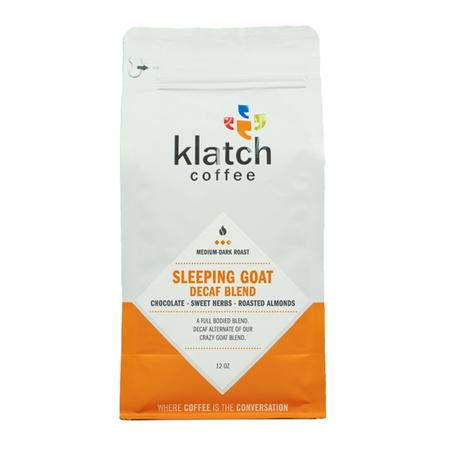 Klatch Coffee Sleeping Goat Blend Decaf