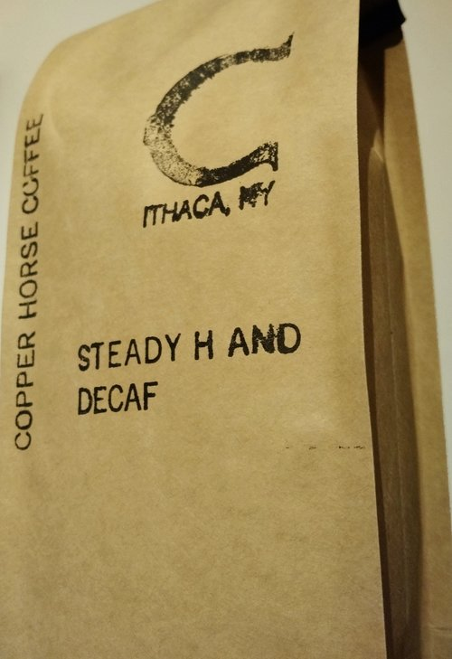 Copper Horse Coffee Steady Hand Decaf SWP