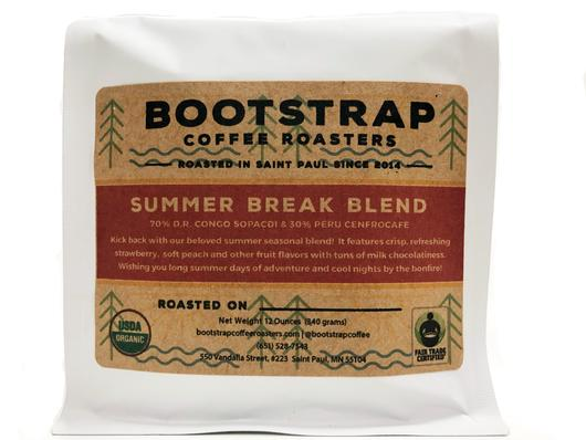 Bootstrap Coffee Roasters Summer Break Blend