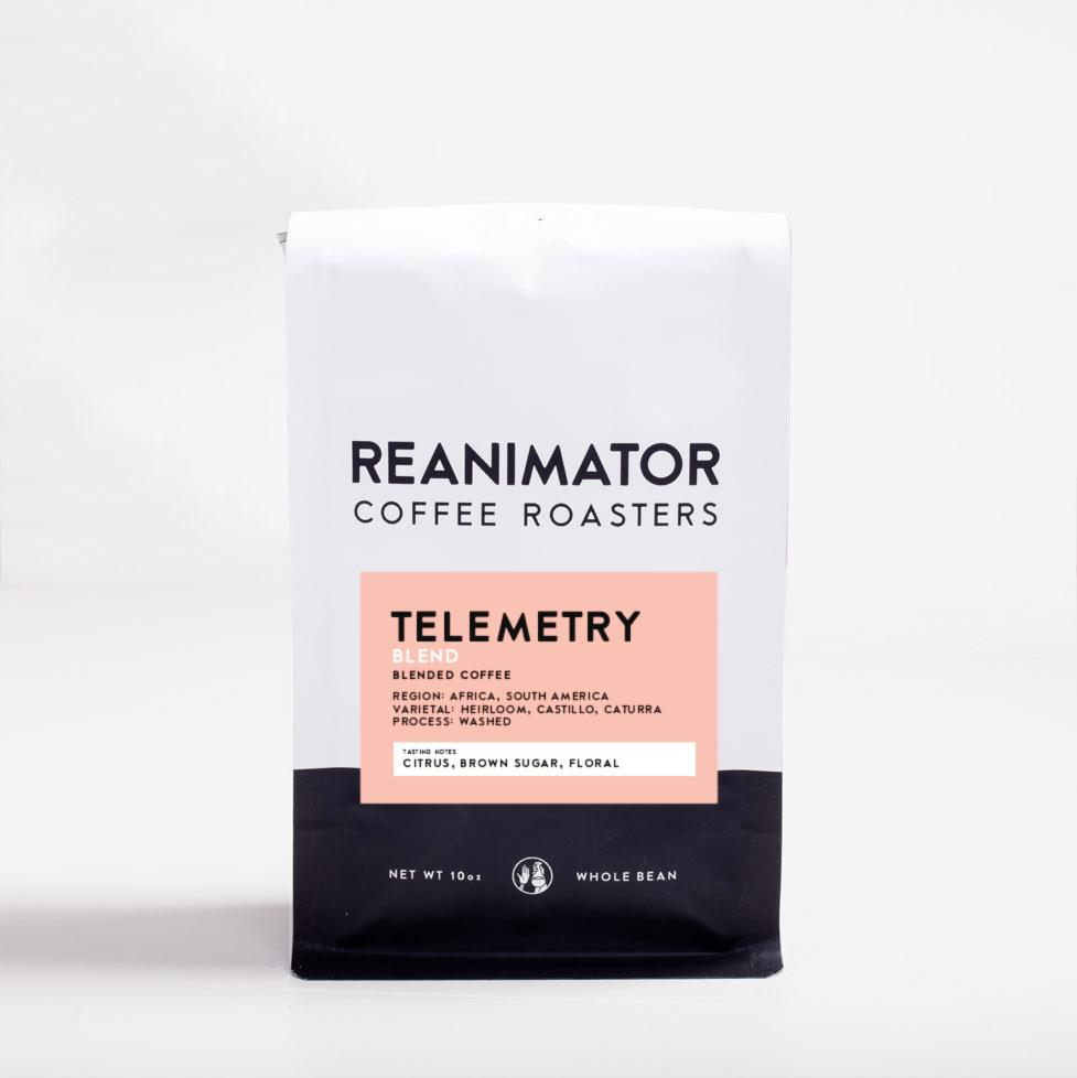 ReAnimator Coffee Telemetry Blend