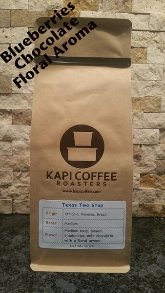 Kapi Coffee Texas Two Step Blend