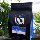 TOCA Coffee Worlds Collide Blend