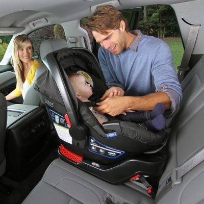 Rear-facing infant car seat rental