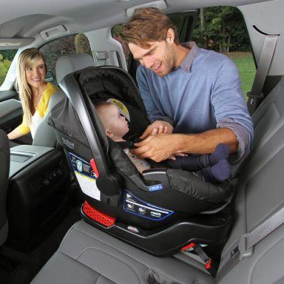 Rear-facing infant car seat